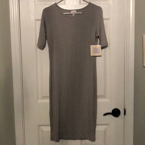 Julia light gray LulaRoe dress